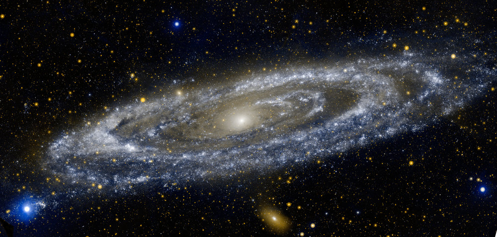 Andromeda galaxy, NASA