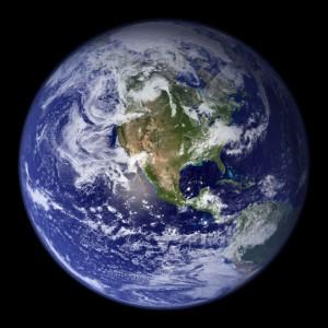 NASA's Blue Marble, western hemisphere